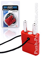 Push Xtreme Fetish - Double Inhaler with Magnetic Lock - Red