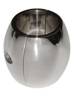 Stainless Steel Ballstretcher Oval - 55 x 35mm