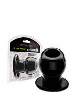 Ass Tunnel Plug schwarz - Medium